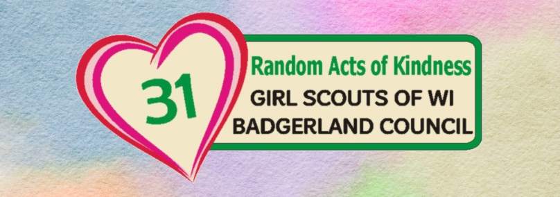 31 Random Acts of Kindness patch