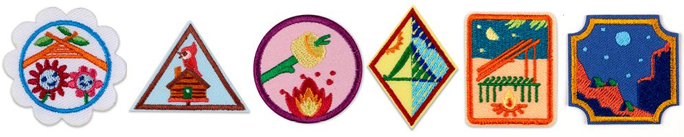 Troop Camping Badges