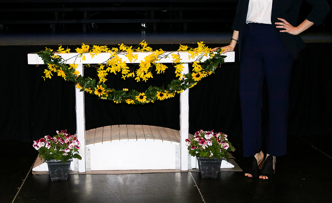 flowers and bridge-2